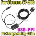 USB-PPI Programming Cable for Siemens  S7-200 PLC + Driver CD,USB Version 6ES7 901-3DB30-0XA0 Win7