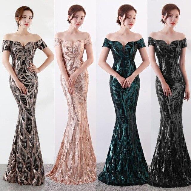 נובל וייס ארוך כבוי כתף ערב שמלות ערב בת ים שמלות נשים פורמליות שמלות us2 14