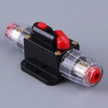 80A 100A автомобильный аудио 100 Ампер автоматический выключатель ручной сброс Agu Держатель предохранителя Прямая поставка