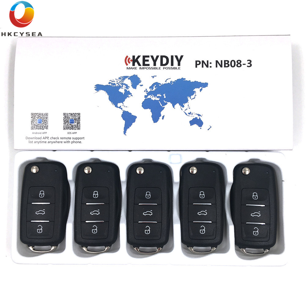 HKCYSEA 5PCS LOT NB08 3 Button NB Series Universal Multi functional Remote Control for KD900 URG200