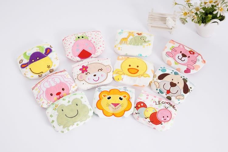 1Pcs Cute Baby Cotton Training Pants Baby Reusable Diapers Cloth Diaper Washable Infants Nappies Diapers 12 kinds #7 hangqiao baby 3 layers white burp cloths cloth diapers cotton diapers diapers diaper
