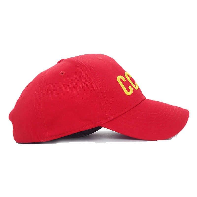 Leistungsstarke CCCP UDSSR Russische Brief Snapback Kappe 100% Baumwolle Baseball Cap Für Erwachsene Männer Frauen Dad Hut Knochen Garros