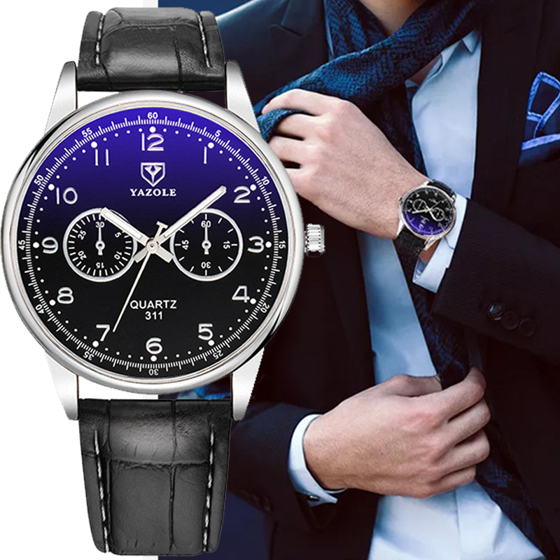 YAZOLE Business Watch Männer Top Marke Luxus Berühmte Neue Handgelenk Uhren Für Mann Uhr Männlichen Quarz Armbanduhr Stunden Relogio Masculino