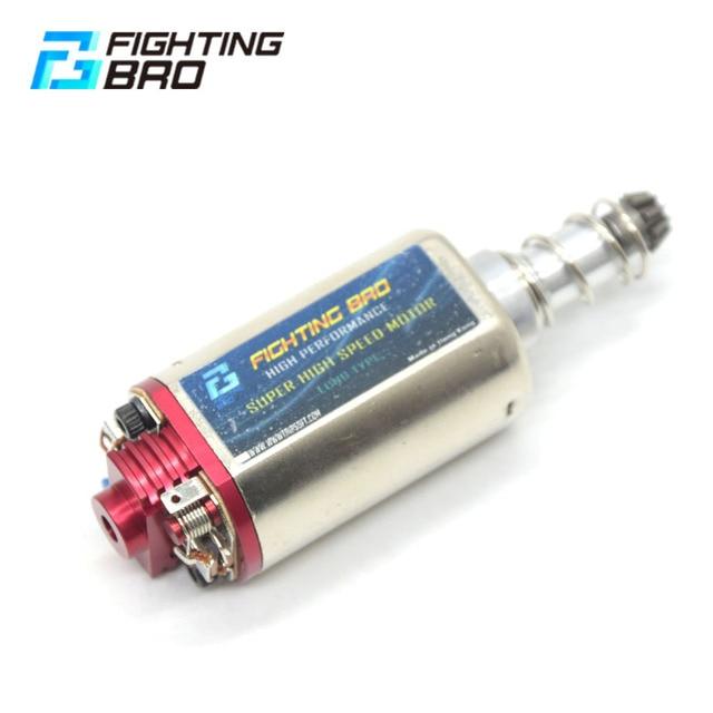 Tipo longo do motor da velocidade do torque máximo de fightingbro tipo alto ímã forte para airsoft aeg ver2 paintball
