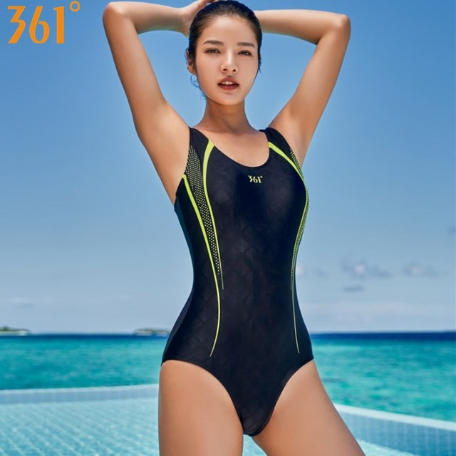 c499ce8a17cb5 361 Swimwear Women Sports One Piece Swimsuit Professional Athletic Swim  Wear Girl Pool Racing Swimming Suit