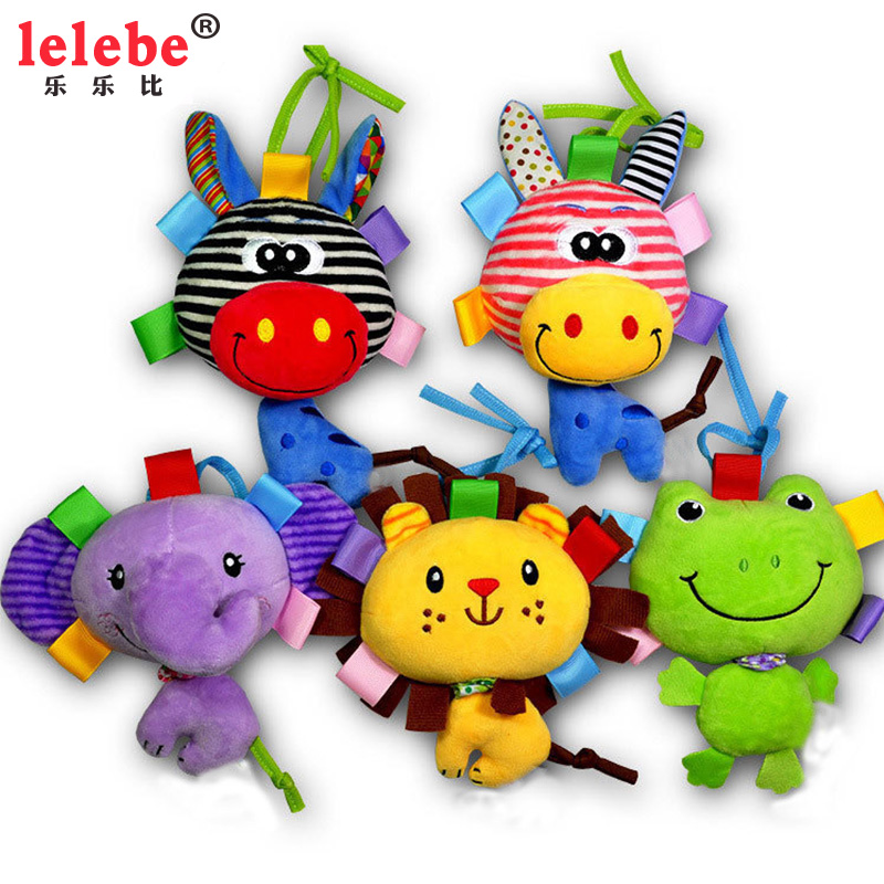 Baby Toys 0-12 Sleep Appease Baby  Newborn Rotating Bed Bell Cloth Bed Hanging Infant  Crib Music Box Rattles Baby Speelgoed