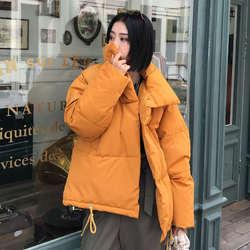 Куртка осень-зима Для женщин пальто Модные женские стенд зимняя куртка Женская куртка-парка теплые Повседневное плюс Размеры пальто