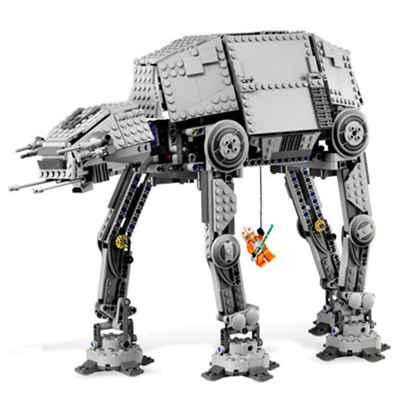 LEPIN 05050 1137pcs Star Series At the robot Model Building Block Diy Brick Educational Toy For children Gift 10178 конструктор lepin star plan бронированный шагоход at at 1137 дет 05050
