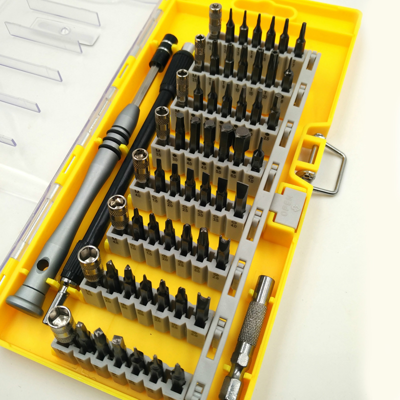 60 In 1 Precision Screwdriver Set Multi-function Phillips and Torx Screwdrivers Hand Tool Set for Laptop Computer Repair Tools laptop cpu cooling fan