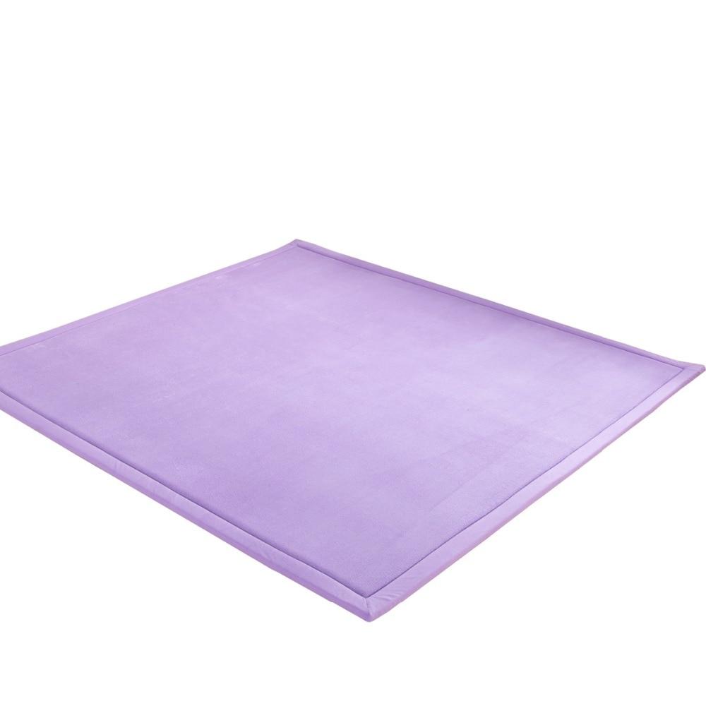 Baby Play Mat Coral Velvet Antiskid Design Crawling Mat kids rug Children Game Pad Super Soft Comfortable Playmat floor mat in Play Mats from Toys Hobbies