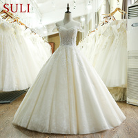 SL 209 Tulle Custom Made 2017 Wedding Dress Lace Made In China