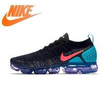 Аутентичная Оригинальная продукция Nike AIR VAPORMAX FLYKNIT 2,0 мужские кроссовки Удобная классическая спортивная обувь Дизайнерские 942842-003