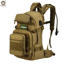 USB Charging Military 25L Backpack Molle Army Tactical Outdoor Trekking Camping Hiking Camouflage Bag Cycling Bike