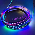 1m DC5V ws2812b 30leds 60leds 144leds 5050 SMD RGB Dream Color ws2811IC built-in Individually Addressable LED Strip Light