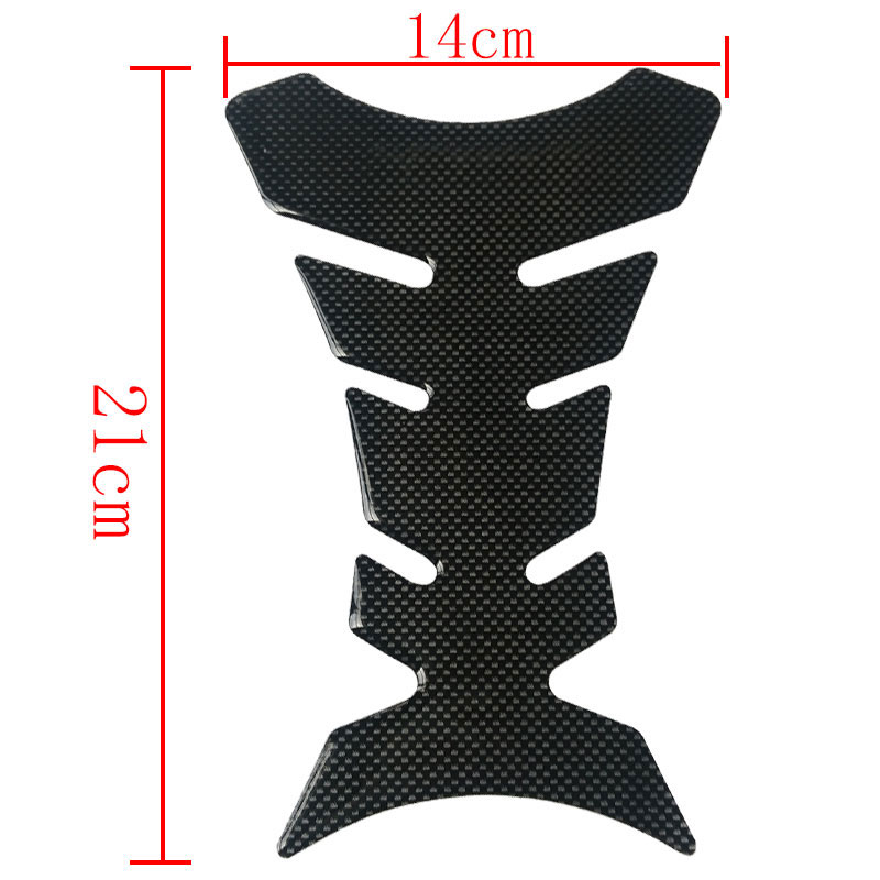 Hot Sale Carbon Fiber 3D Motorcycle Tank Pad Tankpad Protector Sticker For Honda kawasaki yamaha suzuki