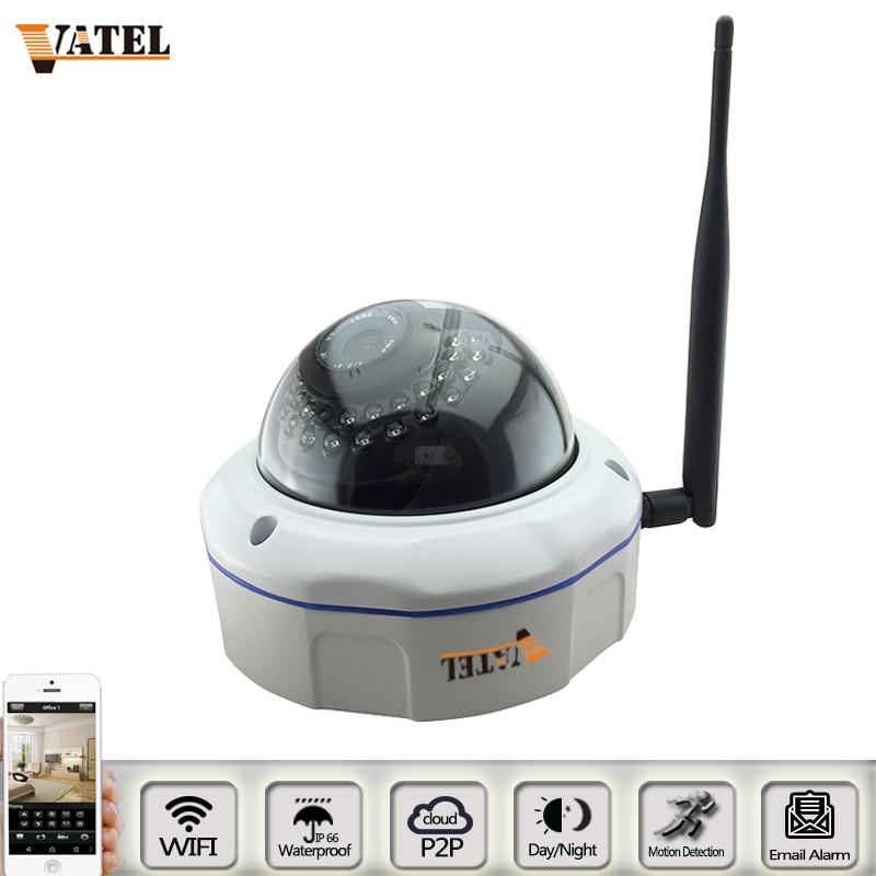 ФОТО Full HD Wirless IP Camera Network metal explosion-proof Dome Wifi Camera 720p/1080P Security CCTV Camera IP System P2P ONVIF2.1