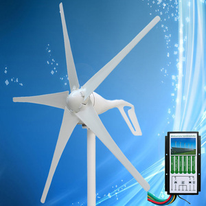 Image 2 - 2020 nuovo Arrivo Mini Generatore della Turbina di Vento 400W Generatore di Energia Eolica, si combinano con il Regolatore Ibrido Solare del Vento 12V/24V Auto