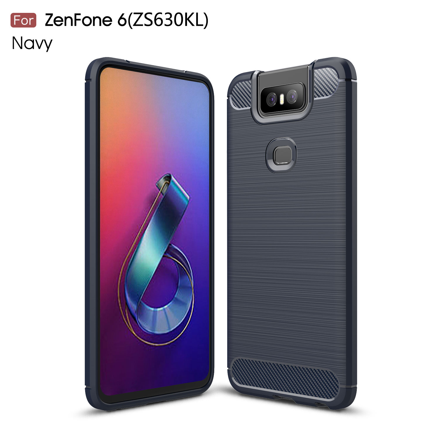 For Coque 2019 Asus Zenfone 6 Case 6.4