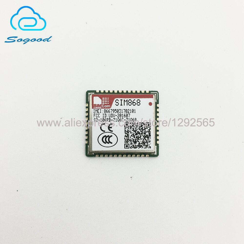 10 шт./лот SIM868 GSM/GPRS + GNSS модуль 100% новый и оригинальный без поддельных SIMCOM GPS модуль приемника GPS| |   | АлиЭкспресс