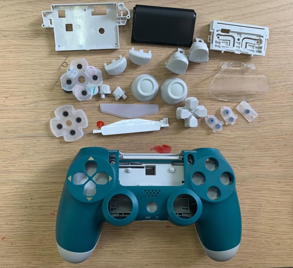 Made In China Replacement Case Housing For Ps4 Slim 4.0 Jdm-040 Wireless Controller Touch With Light