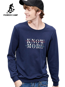 Image 1 - Pioneer camp new autumn sweatshirt mens hoodies brand clothing casual fashion letter printed hoodies male cotton tops AWY801265