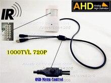 IR Night Vision Mini AHD Camera 3.7mm Pinhole Lens 720P 1.0Megapixel PIR CCTV Pinhole Camera Security Camera AHD Mini Camera Ahd