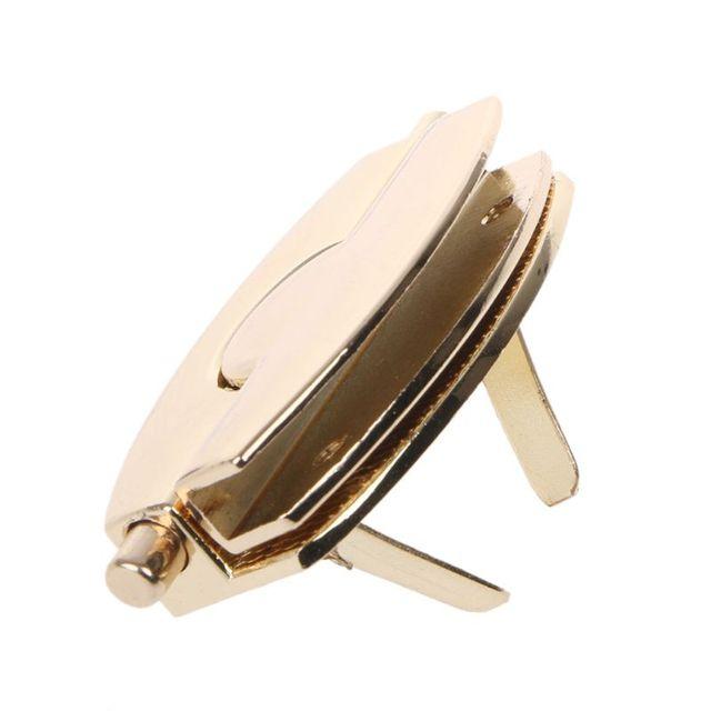 THINKTHENDO 2019 nouveau fermoir en métal tourner serrure serrures torsadées pour bricolage sac à main artisanat sac sac à main matériel