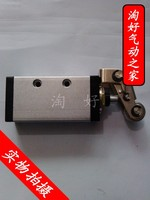 Pneumatic components of the new benefits of three bit two through mechanical valve XQ230612 thread interface 1/4 2