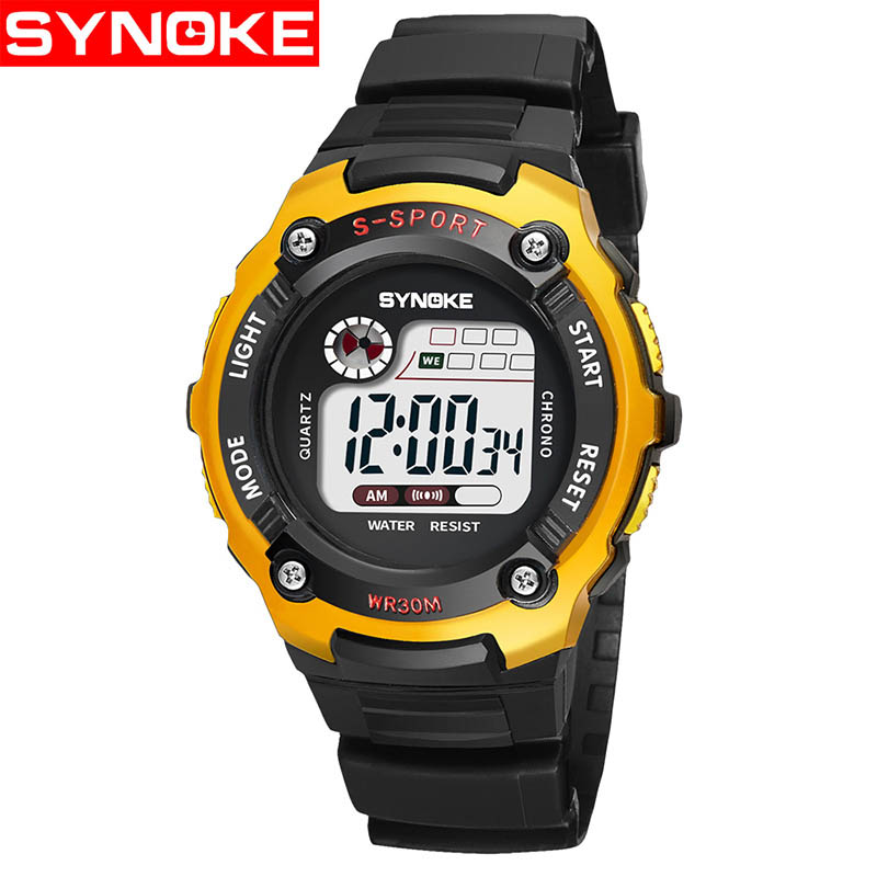 Children Sport Watches Digital Wristwatches For Student Kids Boys Girls Clock 2018 LED Electronic Watches Waterproof kol saati children watches for girls digital smael lcd digital watches children 50m waterproof wristwatches 0704 led student watches girls page 5