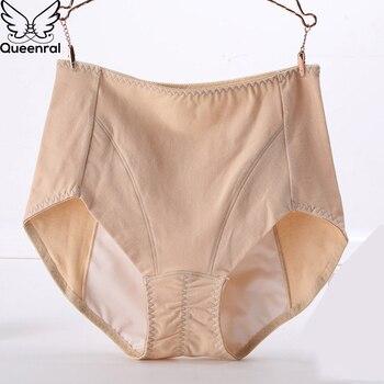 9dee1984622d Bragas menstruales ropa interior Mujer algodón período pantalones  fisiológicos talla grande 2XL 3XL cintura alta transpirable breve para mujer