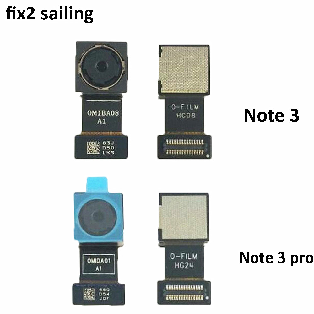 High Quality Back Rear Main Back Camera Module Repair Parts For Xiaomi Redmi Note 3/Note 3 Pro