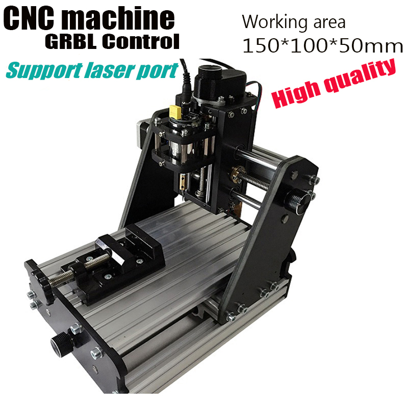 mini CNC machine,GRBL control Diy 1510,working area 15x10x5cm cnc router,3 Axis Pcb Milling machine,Wood Router, CNC carving mini cnc milling router