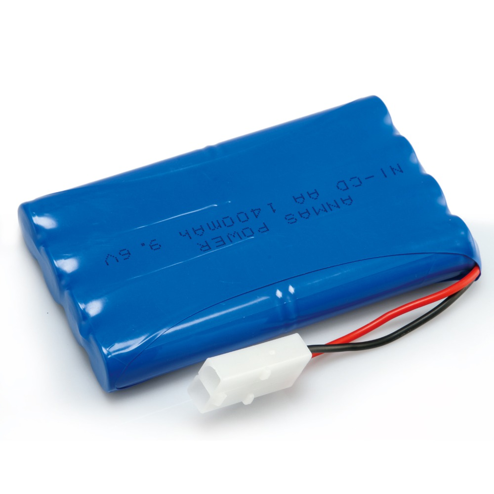 Anmas Power 1/2/4 Pack 1400mAh 9.6V NI-CD Rechargeable Battery For <font><b>RC</b></font> <font><b>Racing</b></font> <font><b>Cars</b></font> Boat <font><b>Truck</b></font> Hobby image