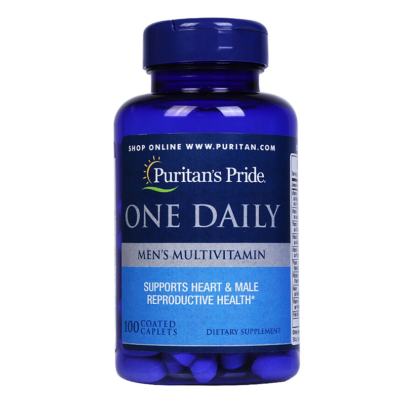 One Daily Men's Multivitamin 100 Pcs Free Shipping free shipping ultra mega gold multivitamin 90 caplets