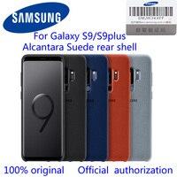 100 GENUINE Original Samsung G960 G965 Galaxy S9 S9 Plus S9 ALCANTARA Cover Anti Knock Back