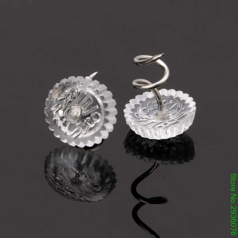 Detail Feedback Questions About New 10pcs Clear Heads Twist Pins For
