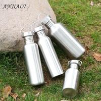 600ML Stainless Steel Water Bottle Sport Shaker Bottle Jar My Bottle For Camping Hiking Cycling Travel