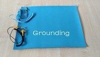 Grounding 500 400 2mm ESD Mat Anti Static Mat Antistatic Blanket ESD Table Mat For BGA