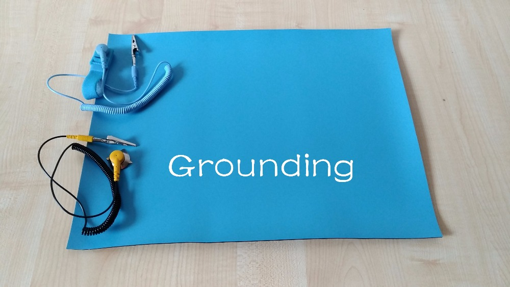Grounding 500 400 2mm Esd Mat Anti Static Mat Antistatic