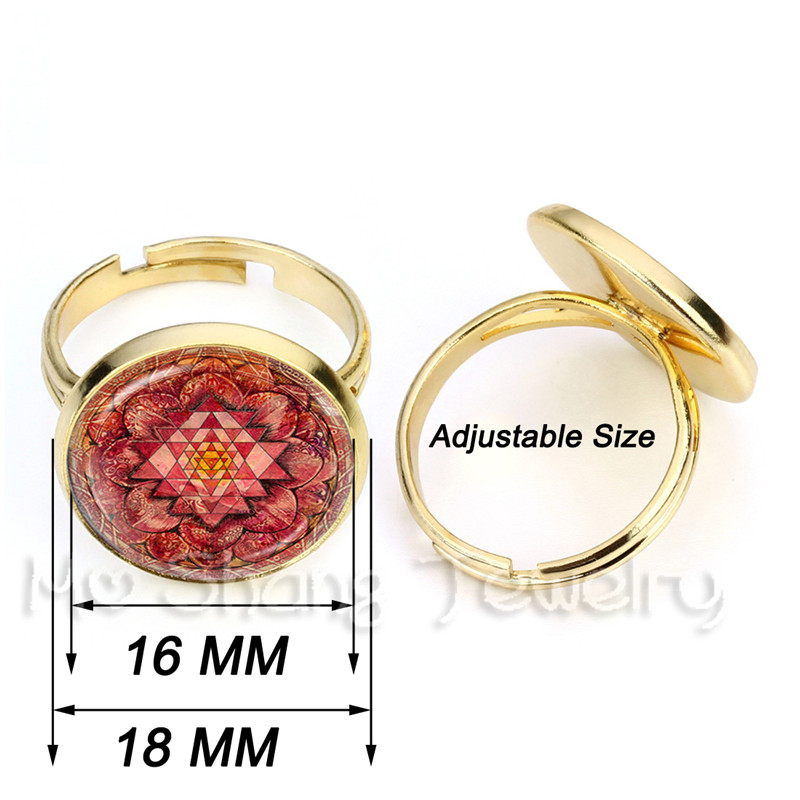 Personalized Custom Rings Photo Mum Dad Baby Children Grandpa Parents Customized Designed Photo Gift For Family Anniversary Gift 2