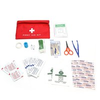 NEW Safurance First Aid Kit Bag Waterproof Nylon Health Care Emergency Survival Treatment Outdoor Survival Security