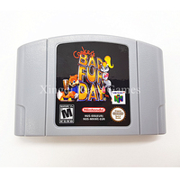Nintendo 64 Game EUR PAL Version Conker S Bad Fur Day Video Game Cartridge Console Card