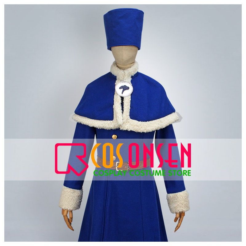 COSPLAYONSEN Fairy Tail Juvia Lockser Cosplay Costume Full Set All Size Custom Made EMS Shipping
