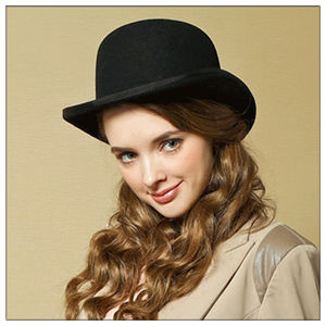 Image 4 - 100% Wool Mens Bailey Ofhollywood Fedora Hat For Gentleman Crushable Hantom Dad Bowler Hat Luxury Billycock Hats