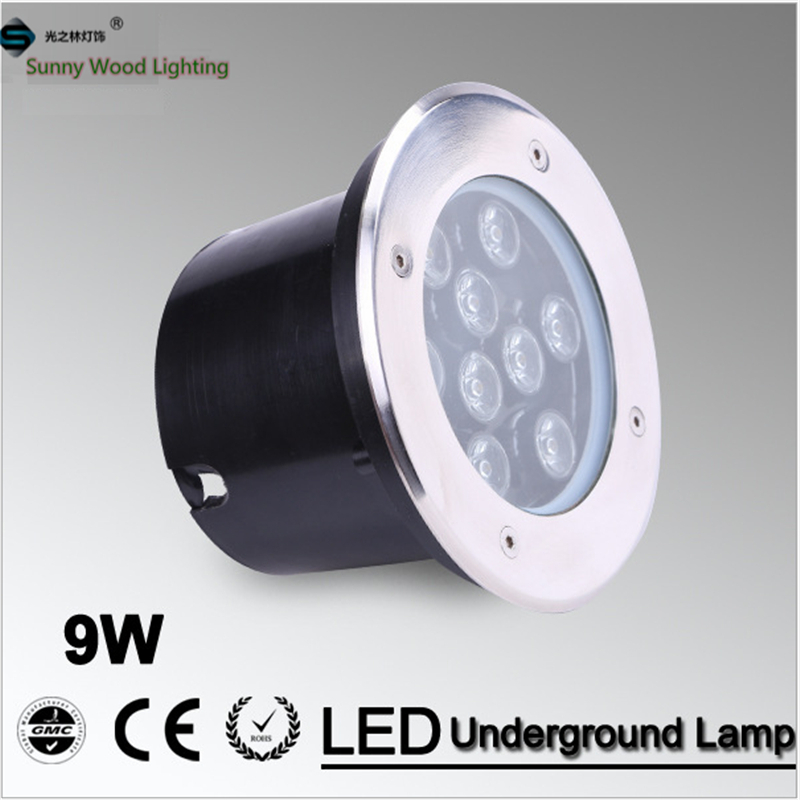 Free shipping LED underground lamps 9W inground light ,IP68 built in lamp ,pool light ,AC24V LUL-A-9W 3years warranty free shipping led underground lamps 6w inground light ip67 built in outdoor lighting ac85 265v lul a 6w 3years warranty