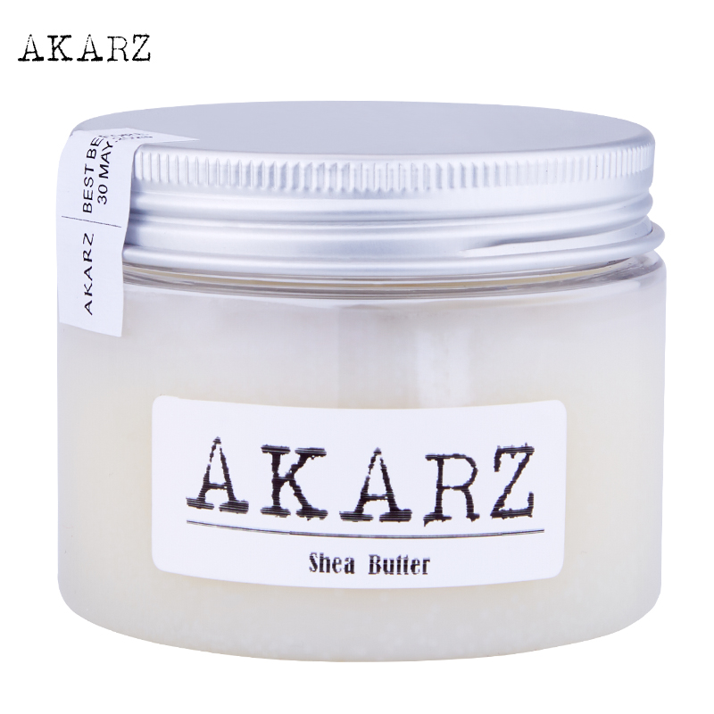 AKARZ brand natural pure Shea Butter Cream high-quality Feet Skin care Remove Foot Dead Whitening Beauty Feet Care Cream 60G bioaqua exfoliante para pies