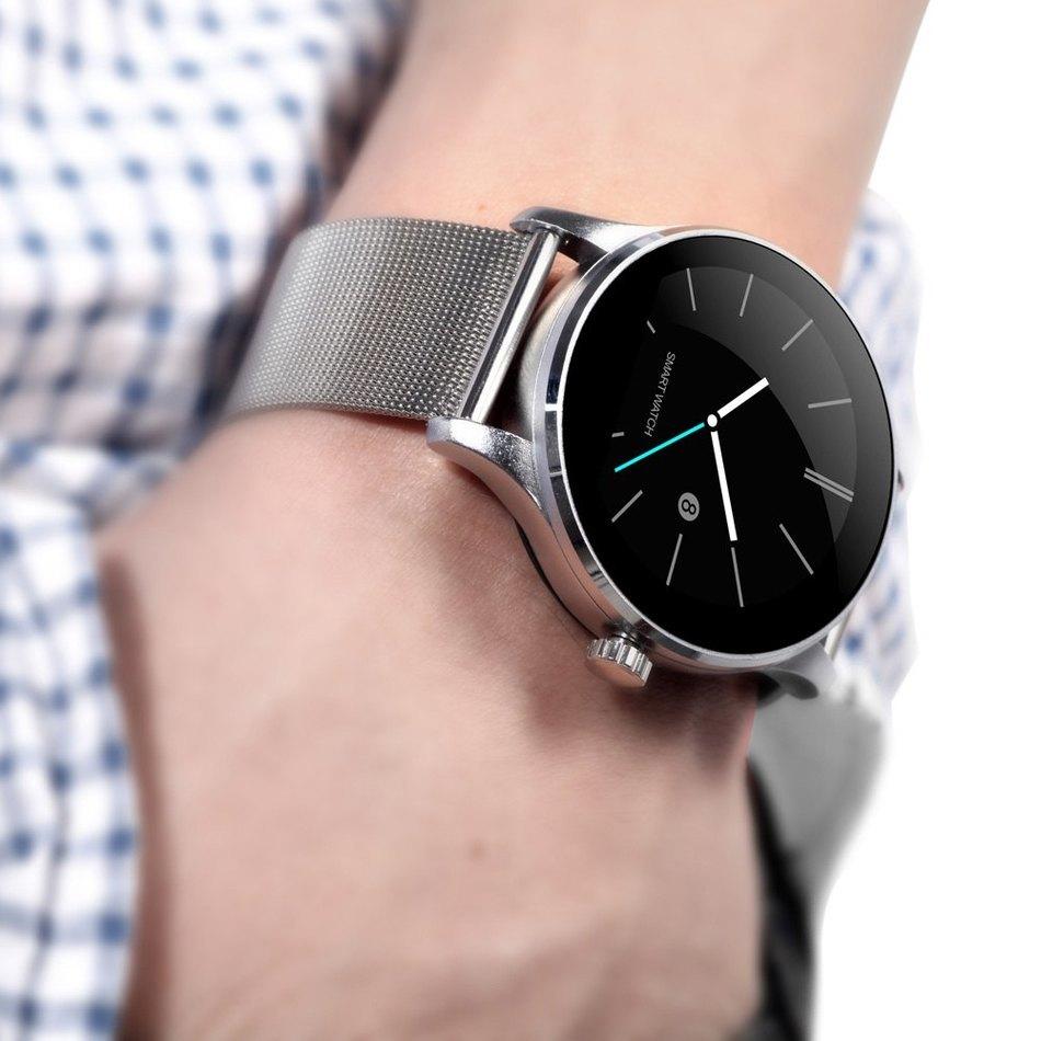 K88H Smart Watch Track Wristwatch MTK2502 Bluetooth font b Smartwatch b font Heart Rate Monitor Pedometer