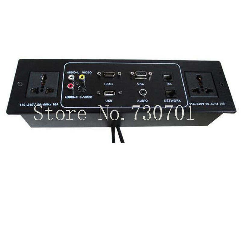 2017 New Hot sell Multi-media Controlling Socket with HDMI and VGA for Top-grade Hotel 50 pcs/set,send by DHL media ethics issues and cases