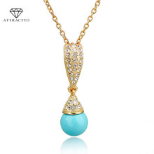 Привлекательные бриллианты и подвески для женщин Золотая цепочка