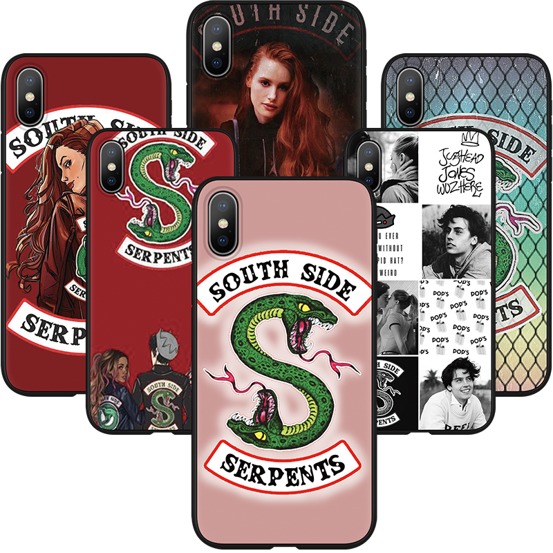 American TV Riverdale Cases Luxury Soft Silicone For TPU iPhone XS Max 7 Plus 8 Plus XS X XR 5 5SE 6 6S Coque For iPhone XS Case